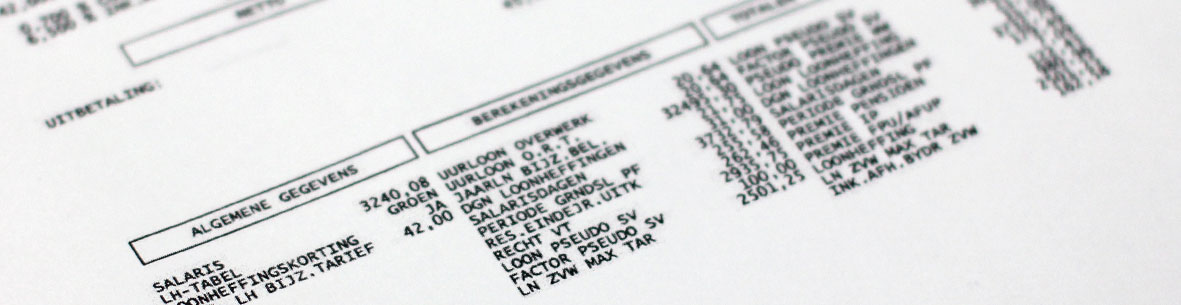 salarisadministratie, loonadmininstratie bij accountskantoor propstra leeuwarden friesland